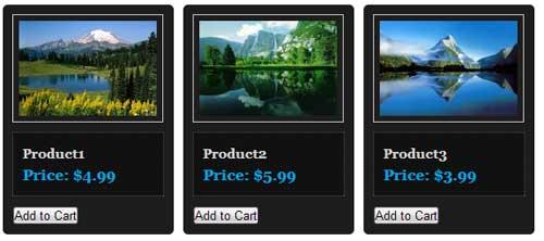 wordpress store display option using estore plugin