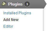 add a new plugin via wordpress plugin uploader