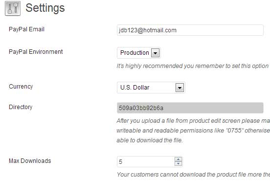 a screenshot showing the general settings of wordpress isell plugin
