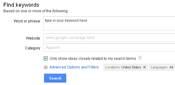 adwords-keyword-research