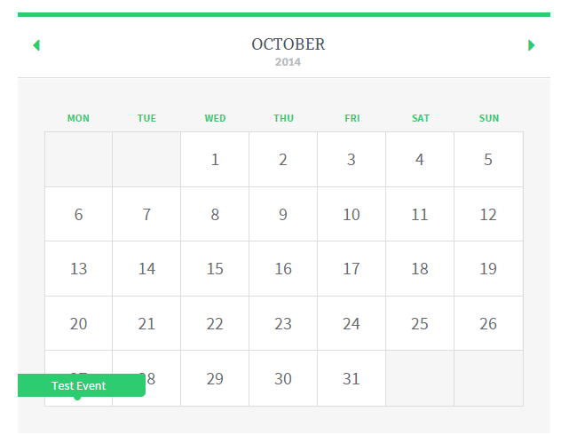 screenshot showing how to create a calendar using event booking manager plugin