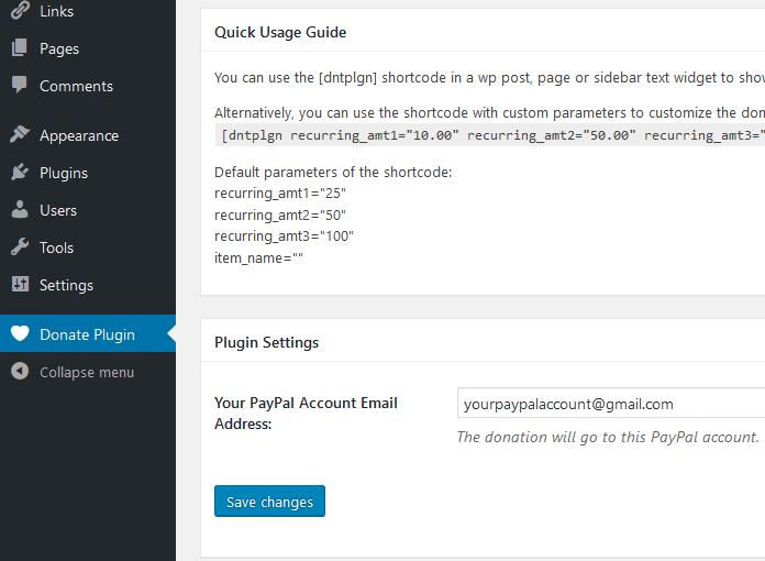 Wordpress Recurring Donation Plugin Wp Ecommerce